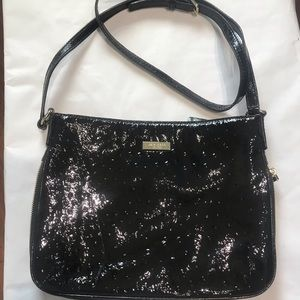 Kate Spade Patent Leather Black Crossbody Bag NWT